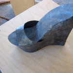 -size 8, women's -steel -2006 Project: welding project in 3-Dimensional Practices